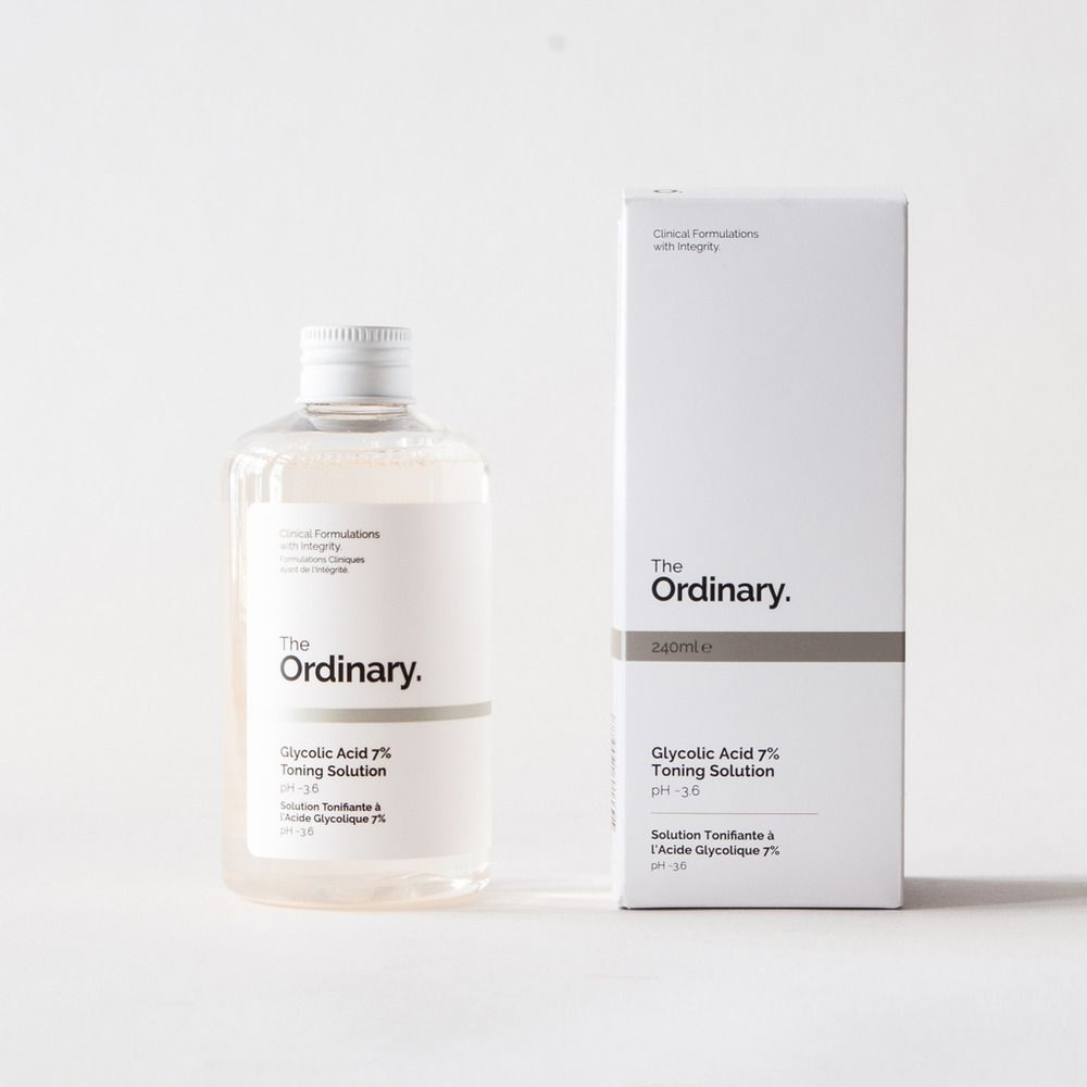 THE ORDINARY. Glycolic Acid 7% Toning Solution 240ml BNIB Genuine