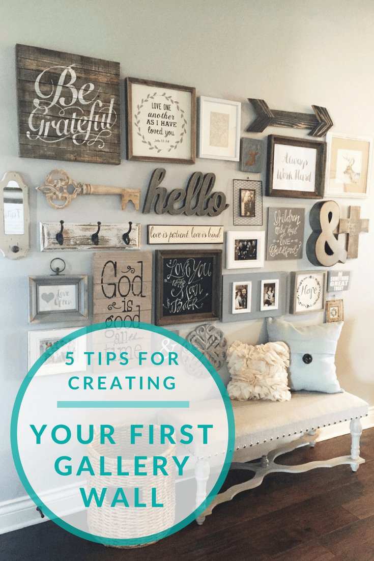 Exceptionnel 5 Tips For Creating Your First Gallery Wall   Home Decor Inspiration