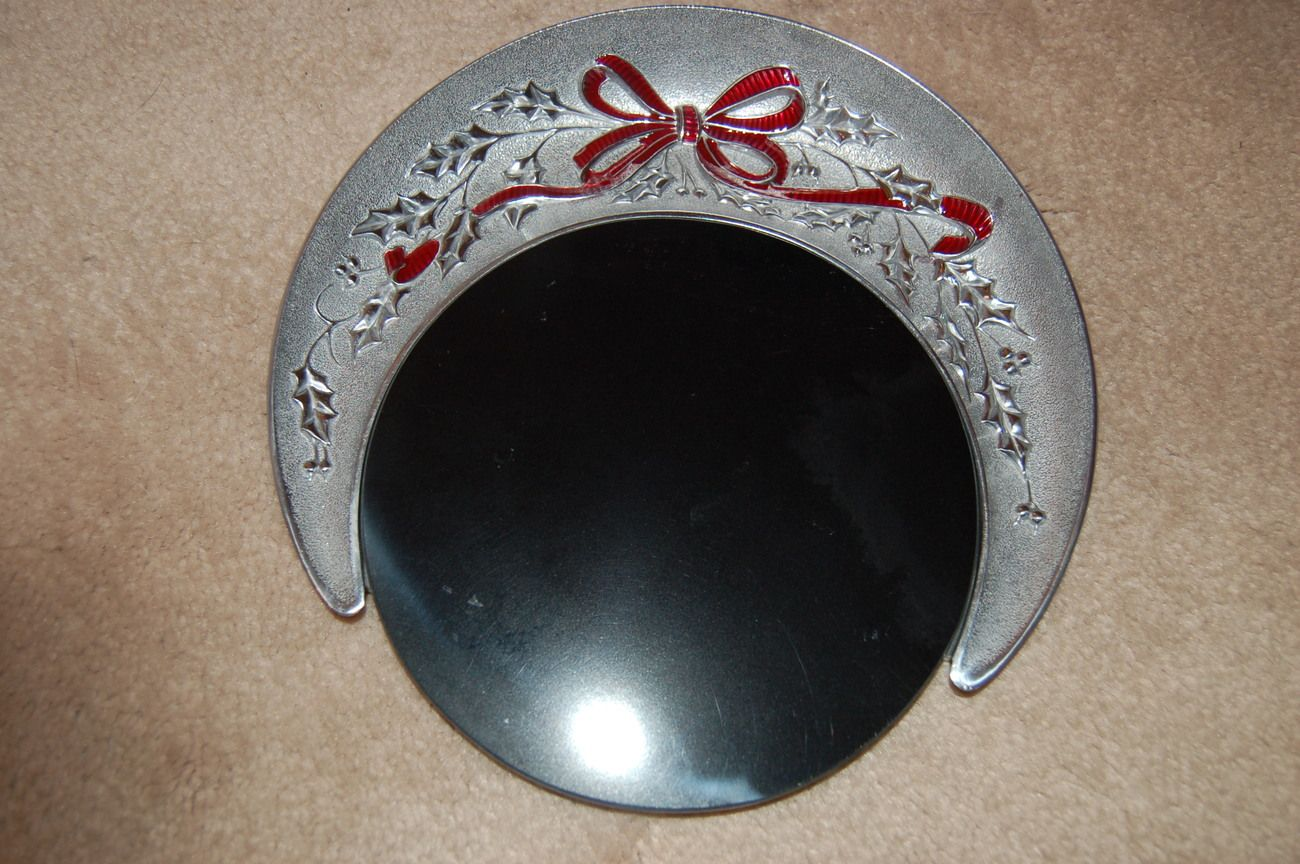 Lenox Cracker and Cheese Board American by Design Holiday Carved Metalware