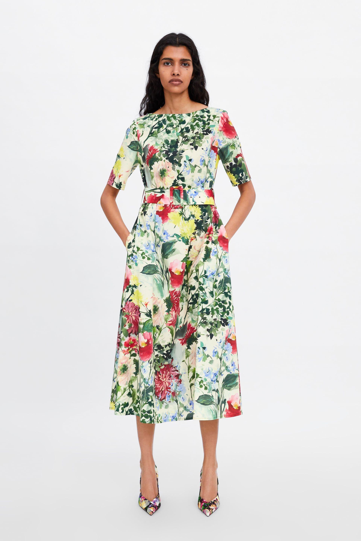 11a9d8e44fff Floral print dress in 2019 | Spring / Summer Fashion 2019 | Floral ...