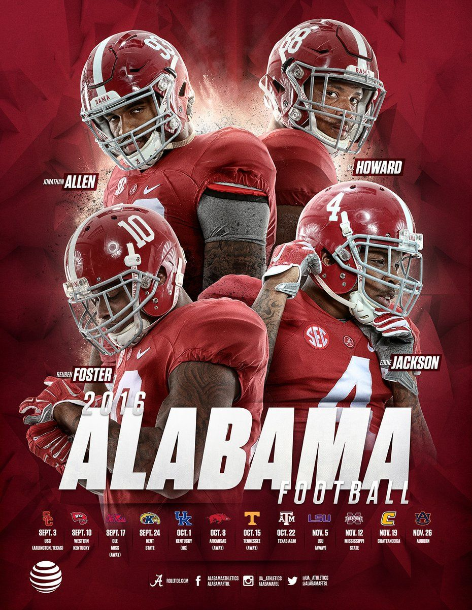 new arrival 5d3b6 dea06 Alabama | College Football Graphics | Crimson tide football ...