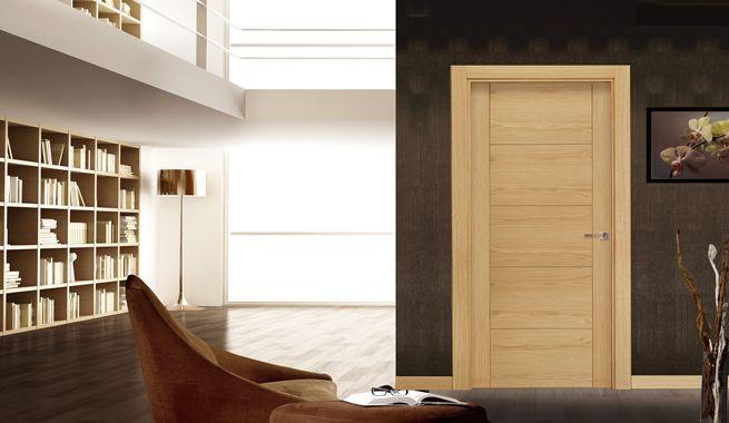Dise os de puertas de madera modernas he aqui los mejores for Puertas de interior modernas