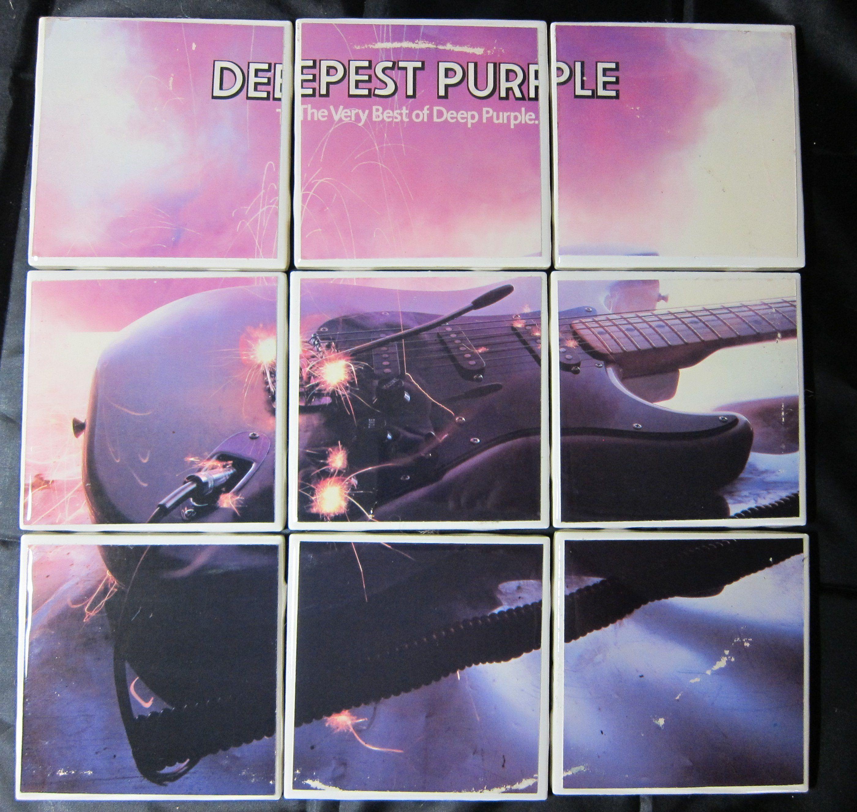 Deep Purple Deepest Purple The Very Best Of Deep Purple Etsy Deep Purple Vinyl Record Art Used Vinyl Records