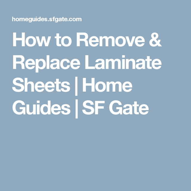 How To Remove Replace Laminate Sheets Laminate Countertop