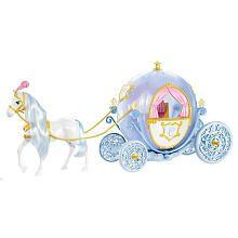 "Disney Princess Cinderella's Horse and Carriage - Mattel - Toys ""R"" Us"