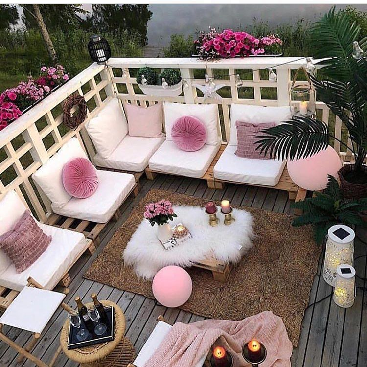 Gardening Home Decoration Idea Inspiration Pink Fresh Freedom Out Balcony Decor Small Balcony Decor Decor