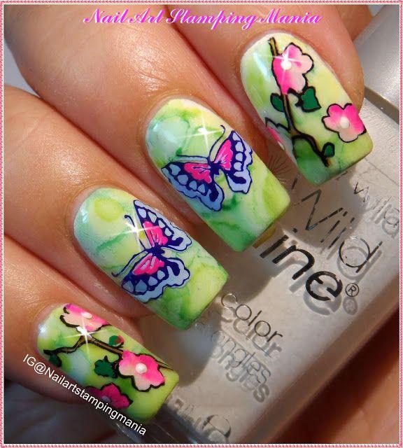 Nail Art Stamping Mania | Nail Art Stamping | Pinterest | Nail nail ...