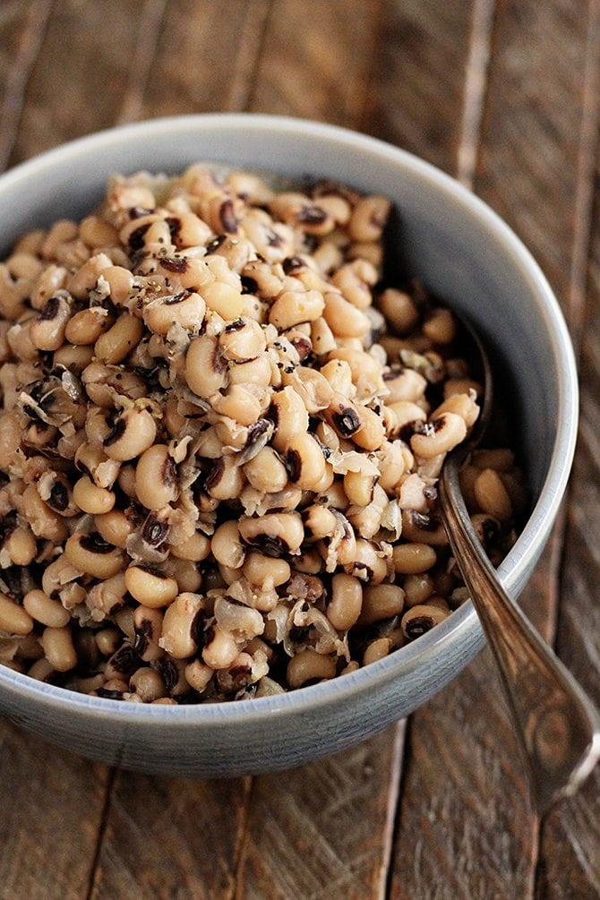 Southern Slow Cooker BlackEyed Peas Recipe Food