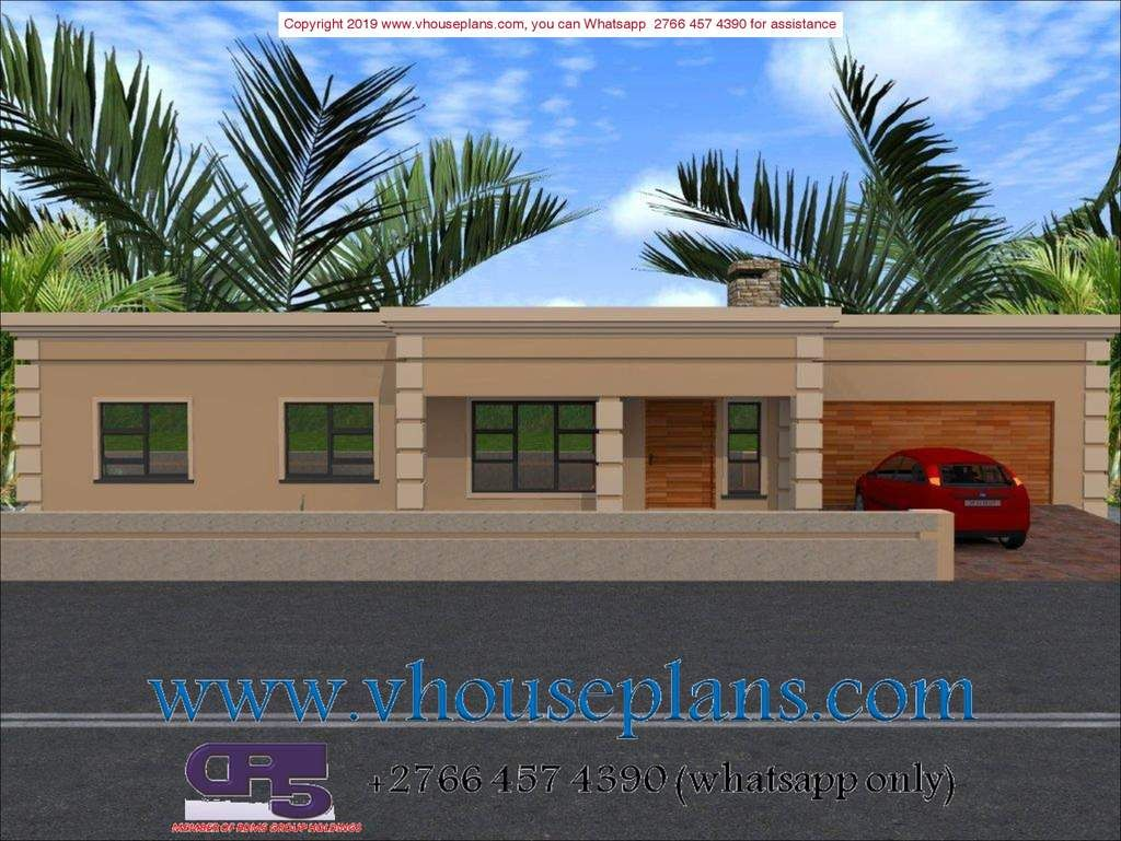 A W1959 Flat Roof House Flat Roof House Designs Beautiful House Plans