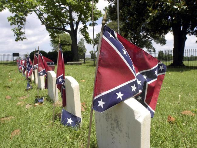 Confederate Flag Cemetery