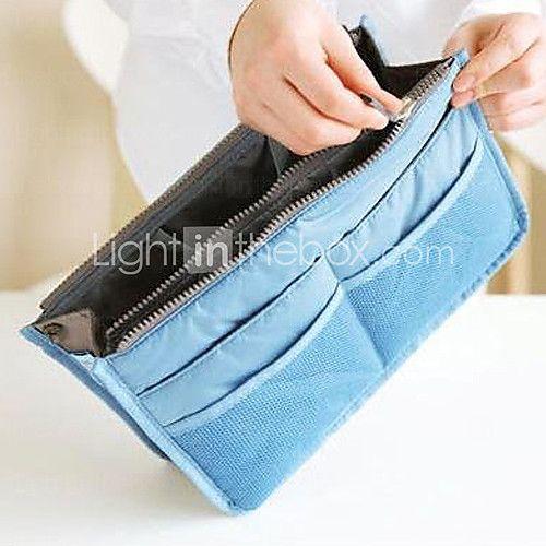 MY EASY BAG Handbag Organiser Purse Large liner Organizer Tidy Bag Pouch(Random Color) - USD $5.99