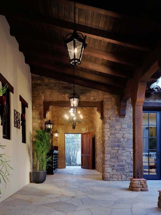 Exterior Rock And Cedar Exterior Design, Pictures, Remodel, Decor And Ideas    Page