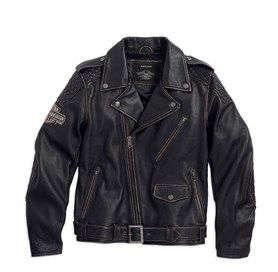 Harley Davidson Vintage Leather Biker Jacket 563 90 Harley Davidson Leather Jackets Leather Jacket Men Biker Jacket