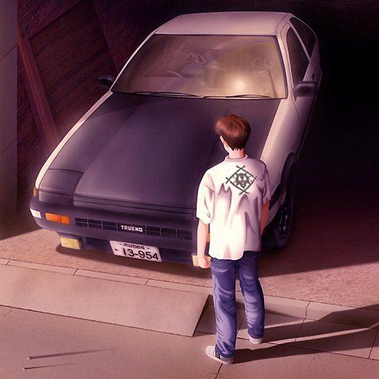 Xavier Wulf Initial D Car Initial D Xavier Wulf