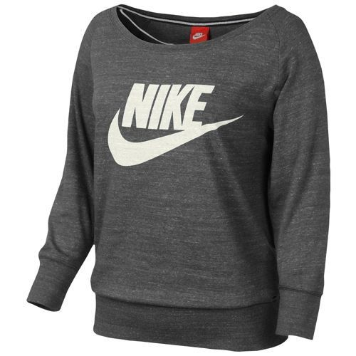 Nike Women's Gym Locker Long Jersey Foot Crew Sleeved At Vintage 7gy6fYb
