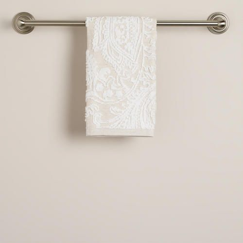 One Of My Favorite Discoveries At WorldMarket.com: Alexandra Sculpted Linen  Hand Towel