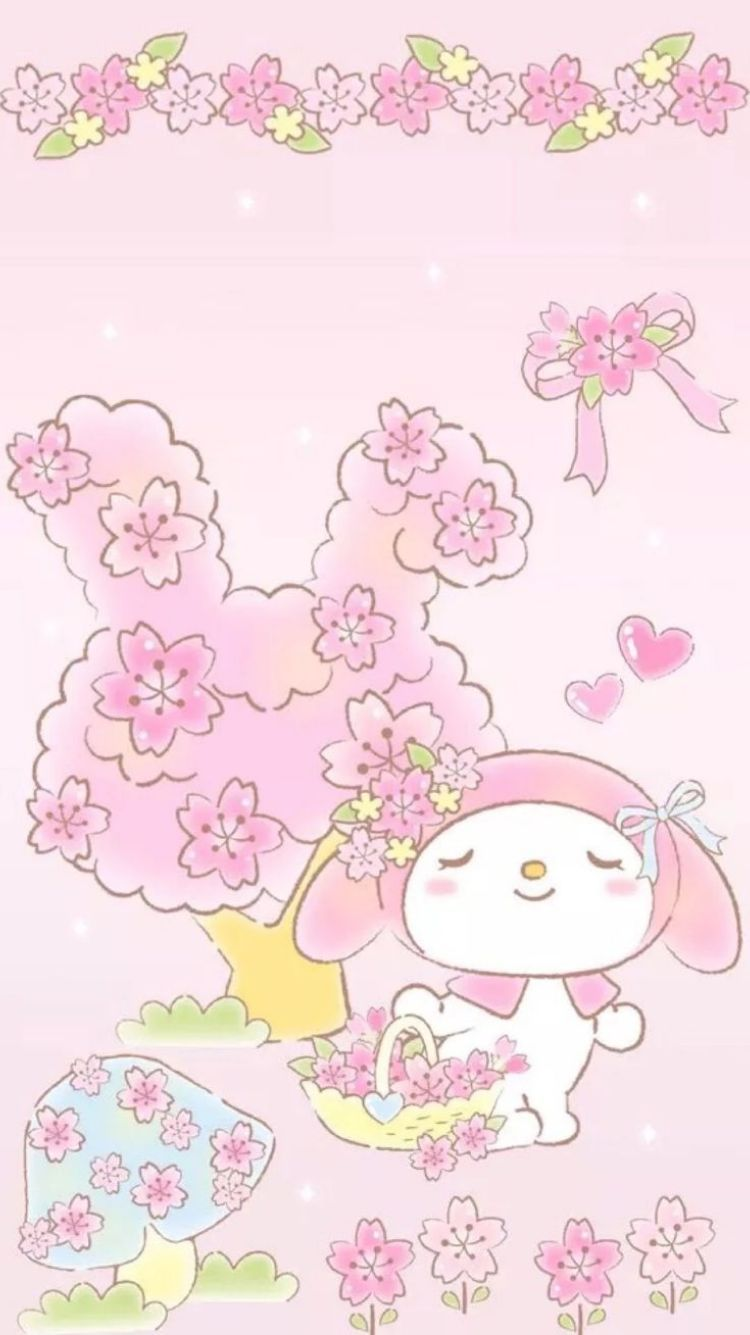Live Wallpapers For Android Screen My Melody Wallpaper Melody Hello Kitty Hello Kitty Wallpaper