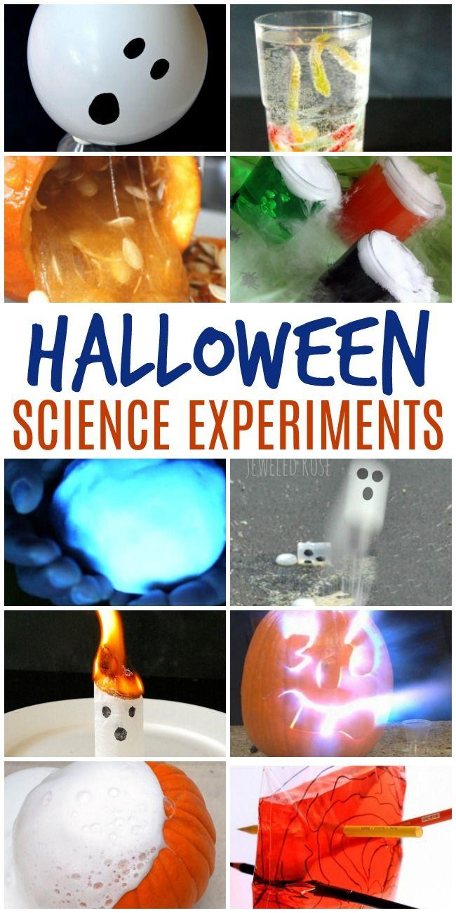 Halloween Science Experiments - Fall Kids Activities   Halloween ...