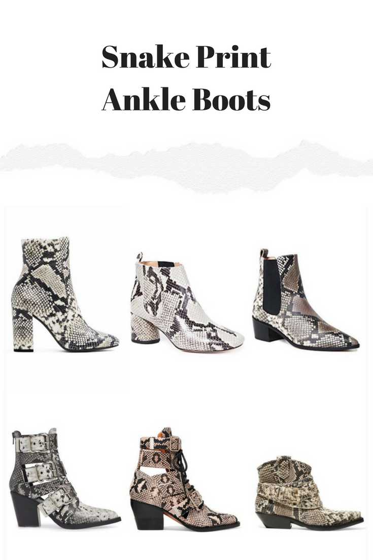 How To Wear The Snake Print Boots Best Snakeskin Boots Print Boots Outfit Boot Print Snake Print Boots