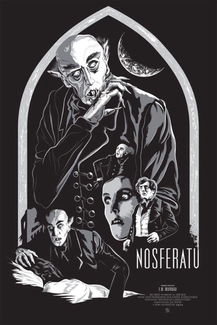 Nosferatu | Póster de cine, Peliculas de terror, Carteles de cine