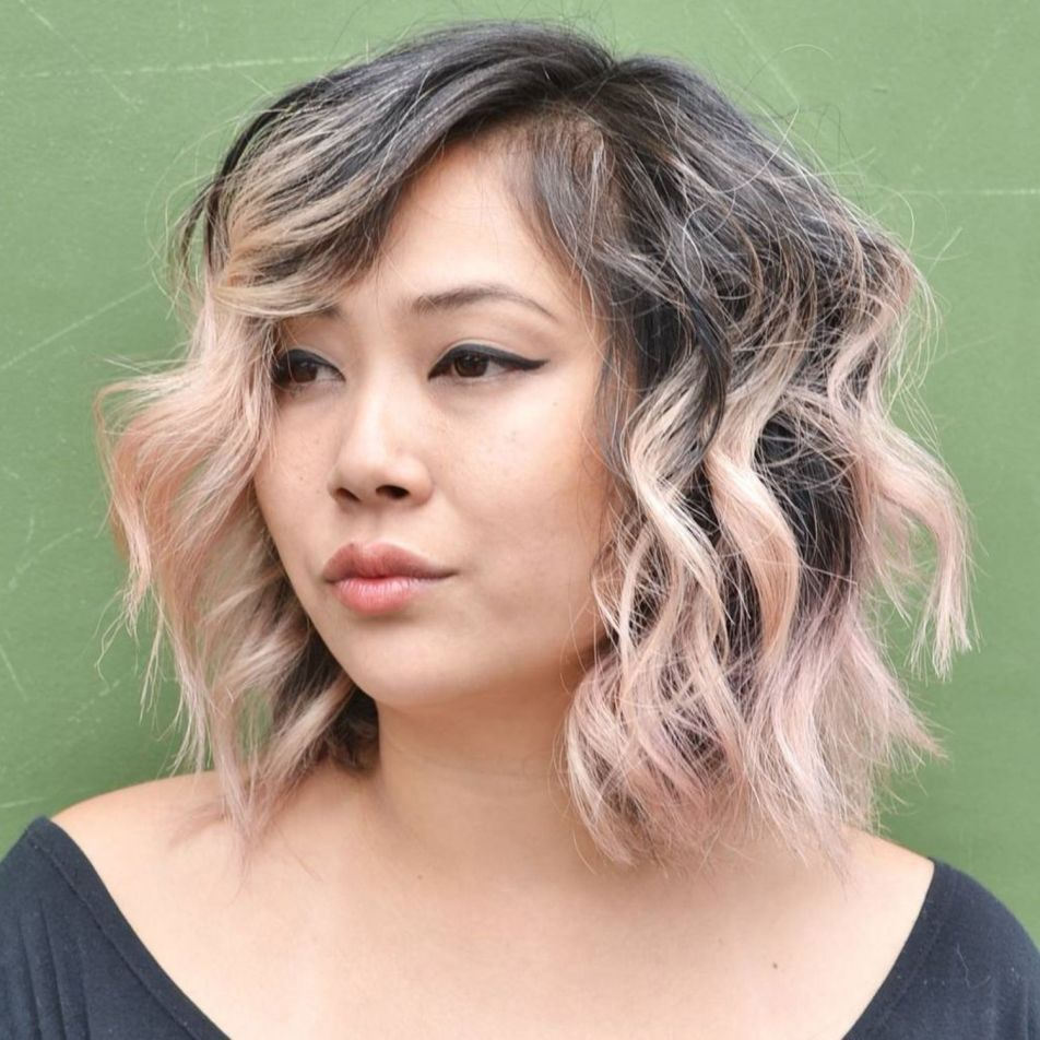 10++ Round face plus size hairstyles inspirations