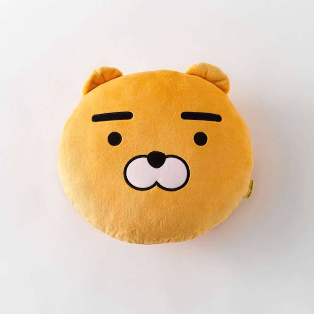 Korea Kakao Talk Friends Character Face Cushion Pillow
