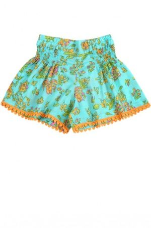 Aqua Greek Bluebell Shorts by Coco & Ginger