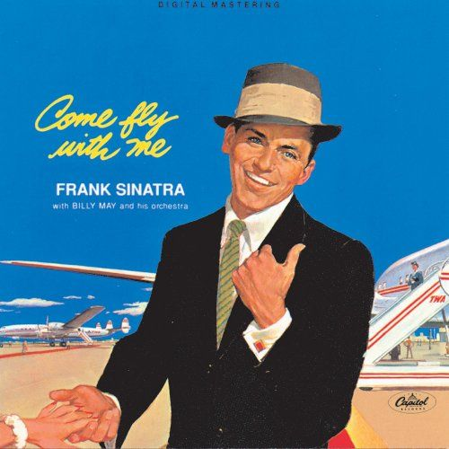 Frank Sinatra - Come Fly With Me - Capitol Vinyl Album Grooves Inc.