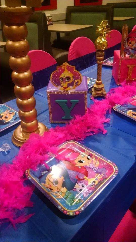 Shimmer And Shine Birthday Party Ideas In 2018 Nails Pinterest