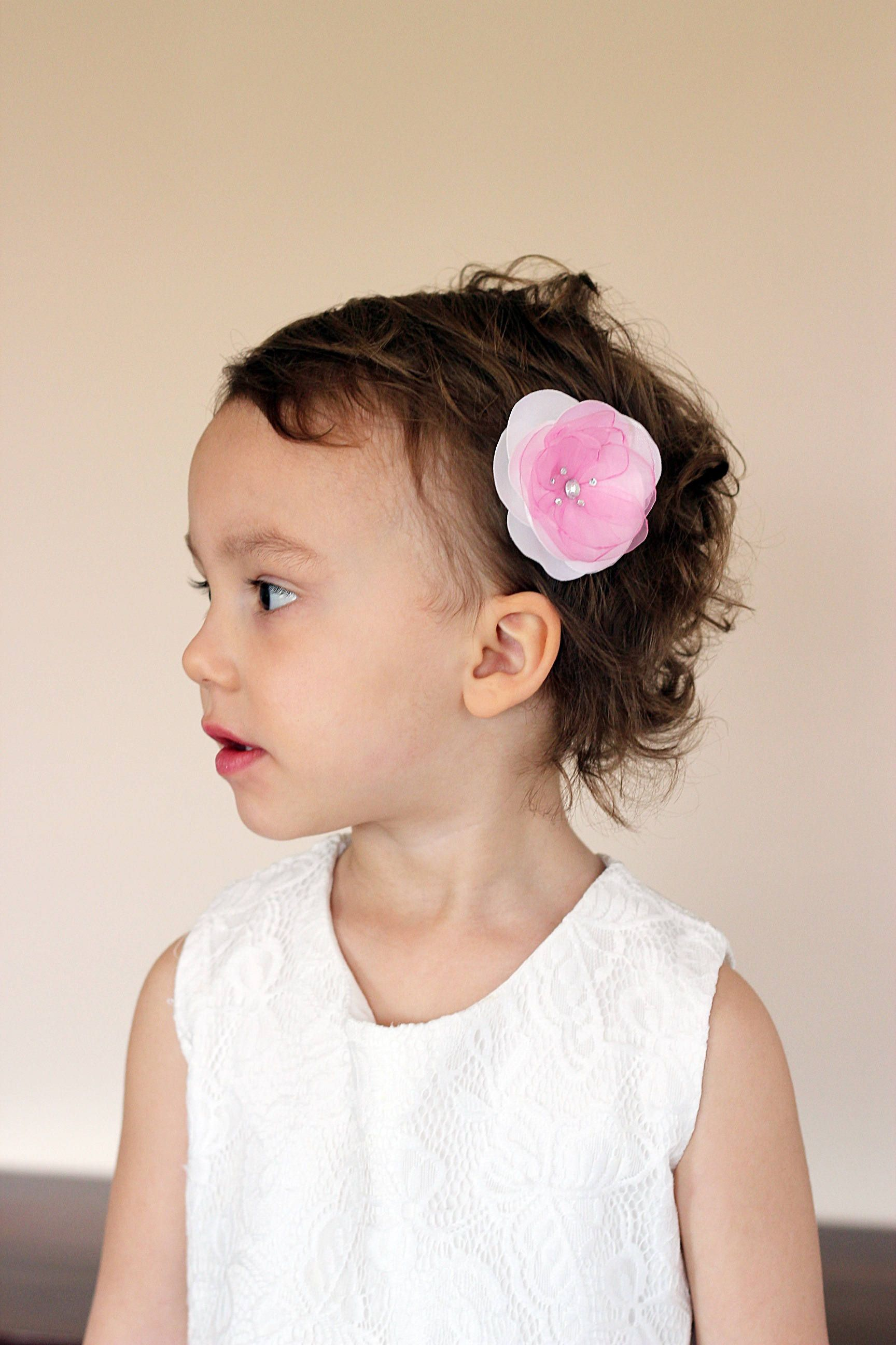 Flower Girl Hair Bandhair Clip Vintage Bride Flower Hair Snap