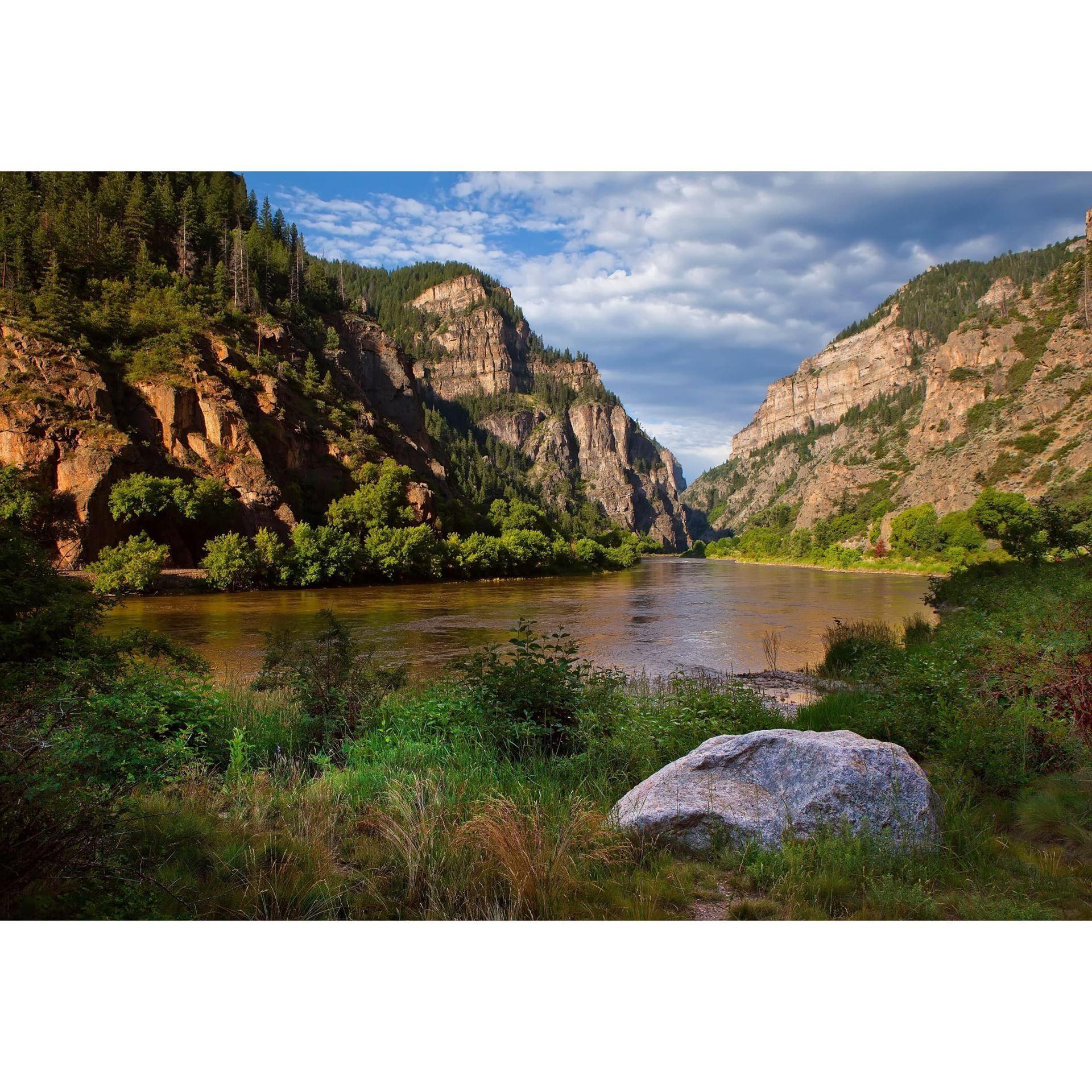 Glenwood Canyon Morning 48x32 D In 2020 Glenwood Canyon