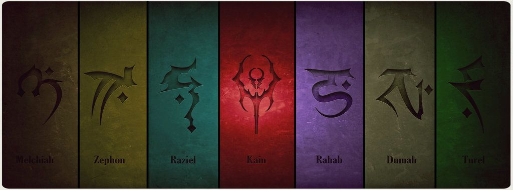 Soul Reaver Clan Symbols By Cassielpaschar Can Somebody Explain This