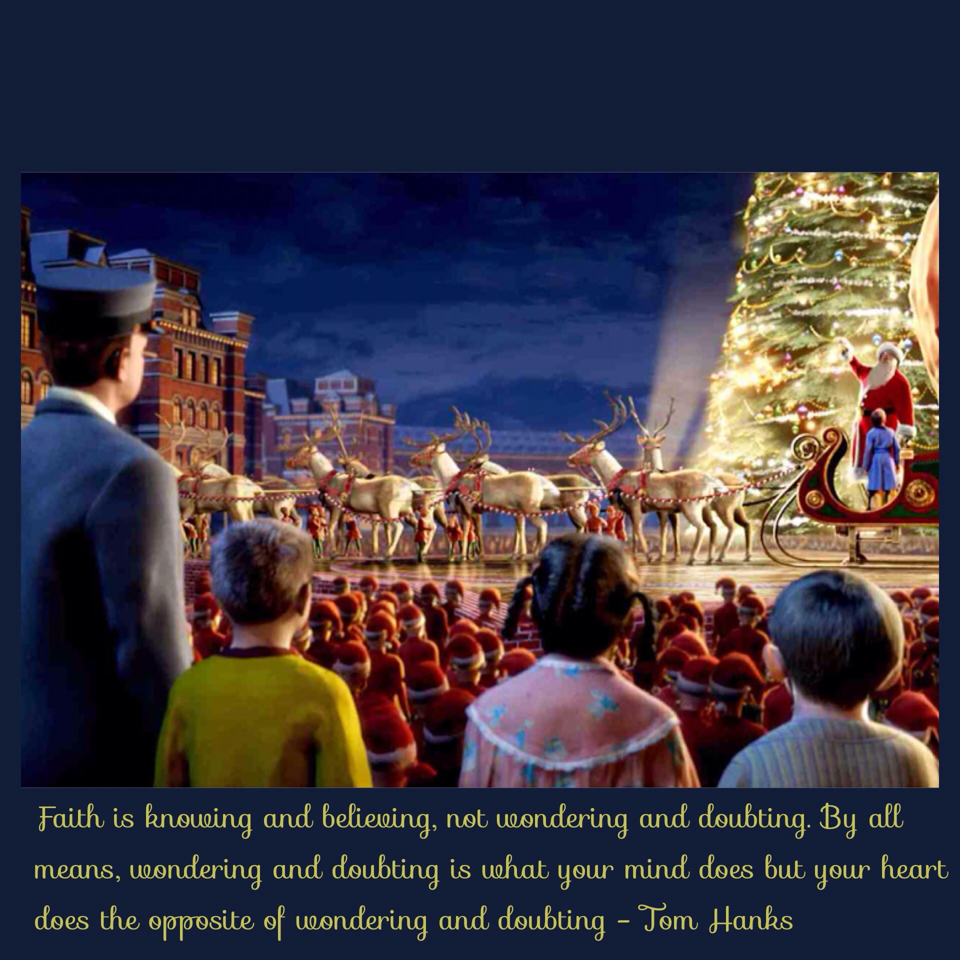 Polar Express Quote Polar express movie, Best christmas