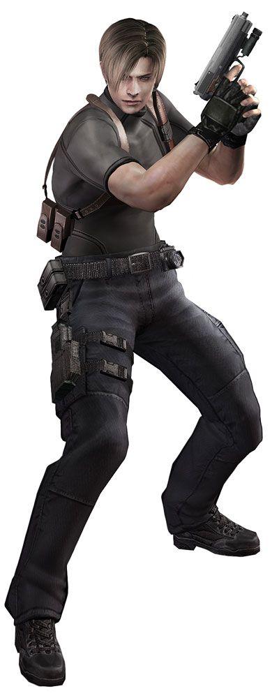 Leon Handgun Characters Art Resident Evil 4 Resident Evil Leon Resident Evil Resident Evil 4 Ashley