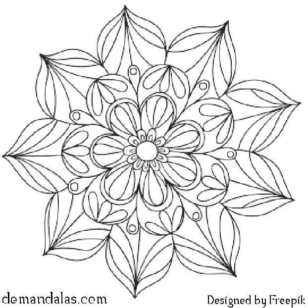 Mandala Para Imprimir En Pdf Libros De Mandalas Mandalas