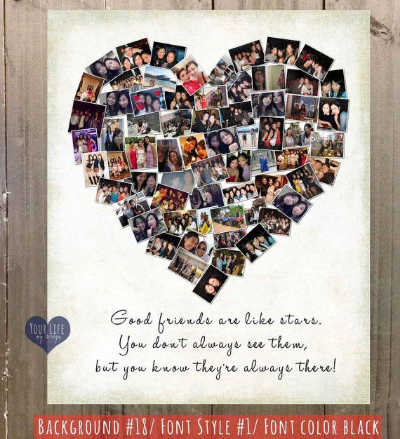 Gift For Best Friends Personalized Photo By Yourlifemydesign