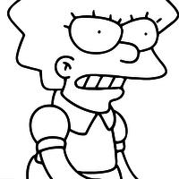 Pin Em Simpsony Raskraski