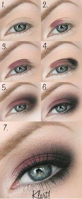 Photo of The best eye makeup tutorials on Pinterest: step by step! – heypr …