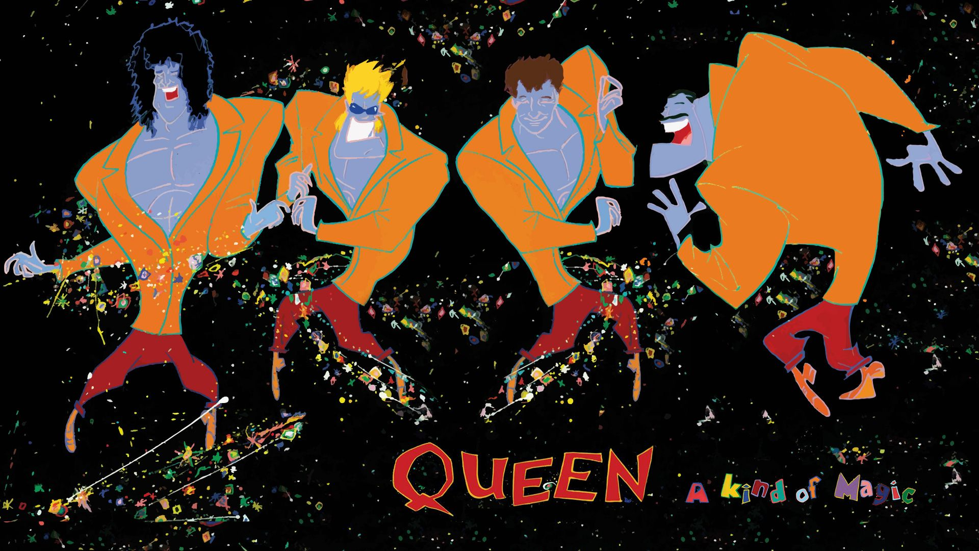 Queen A Kind Of Magic By Felipemuve On Deviantart A Kind Of Magic Queen Albums Album Art