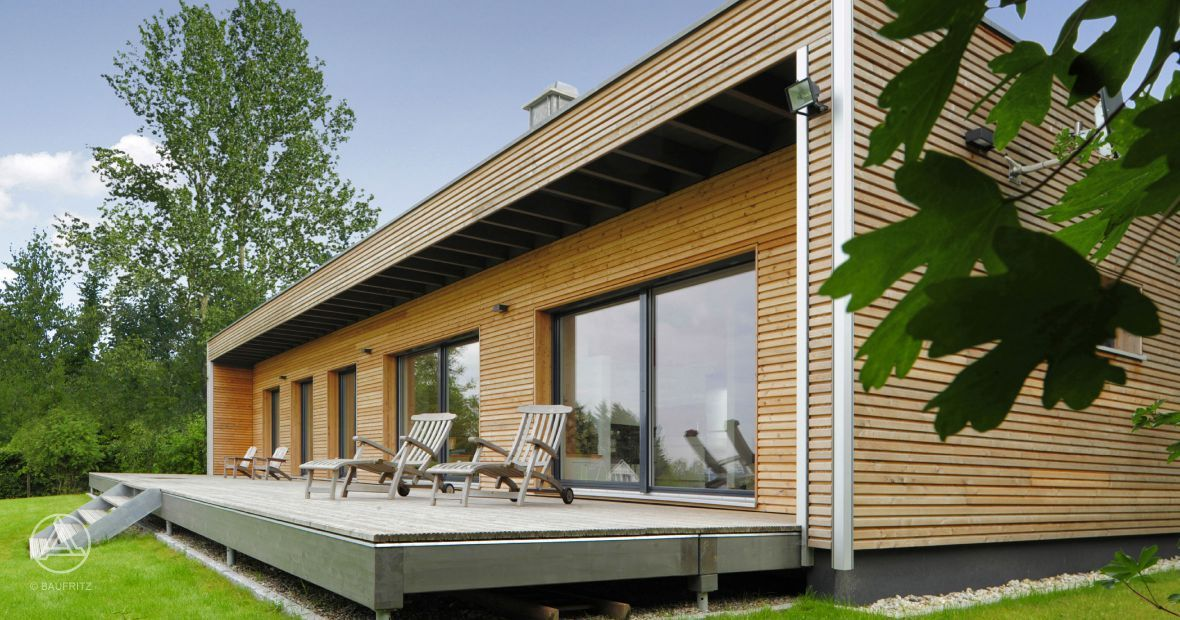Fertighaus bungalow flachdach  Pin von Sps Dream auf Bungalow | Pinterest | Moderner bungalow ...