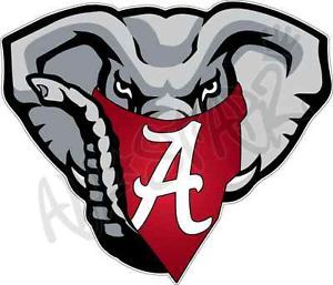 Alabama Crimson Tide Elephant Logo University Of Alabama Crimson