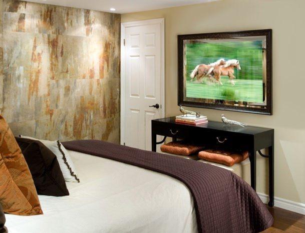Seura Premier Vanishing Mirror Television In A Bedroom Muriel - Tvs in bedrooms design