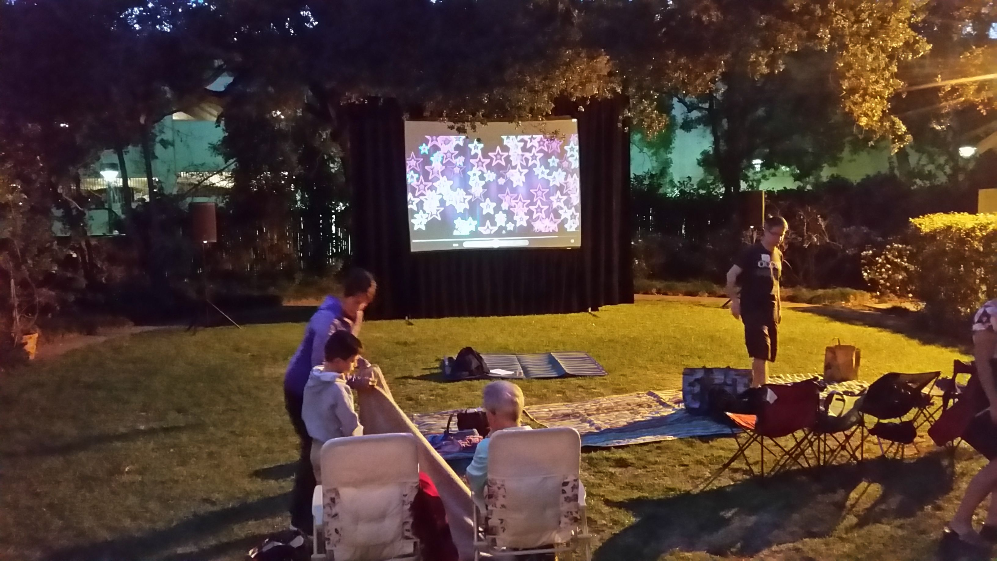 Large medium or small movie night rentals outdoor or