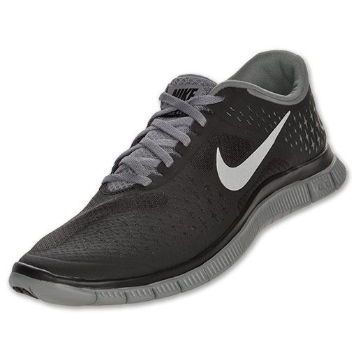 huge discount 663e7 f535a The Nike Free 4.0 V2 Men s Running Shoes Mens   Run.com   GRY BLK