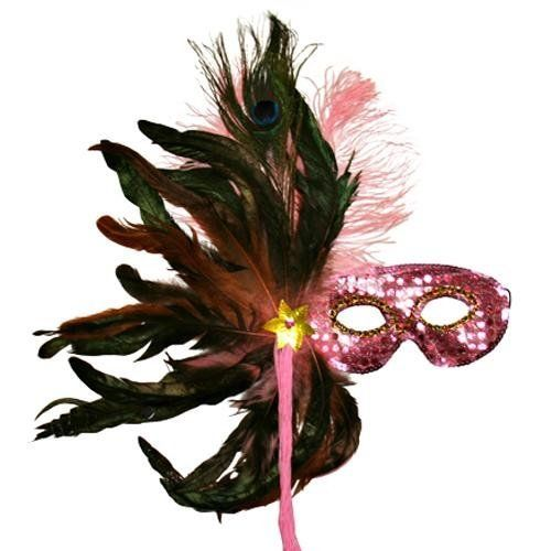 Pink Sequin Masquerade Feather Mask Luxury Divas, http://www.amazon.com/dp/B003ICZRIW/ref=cm_sw_r_pi_dp_V9Xdrb0ESNXM2