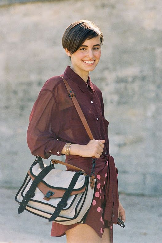 Anne-Catherine -- assistant designer at The Kooples & Student