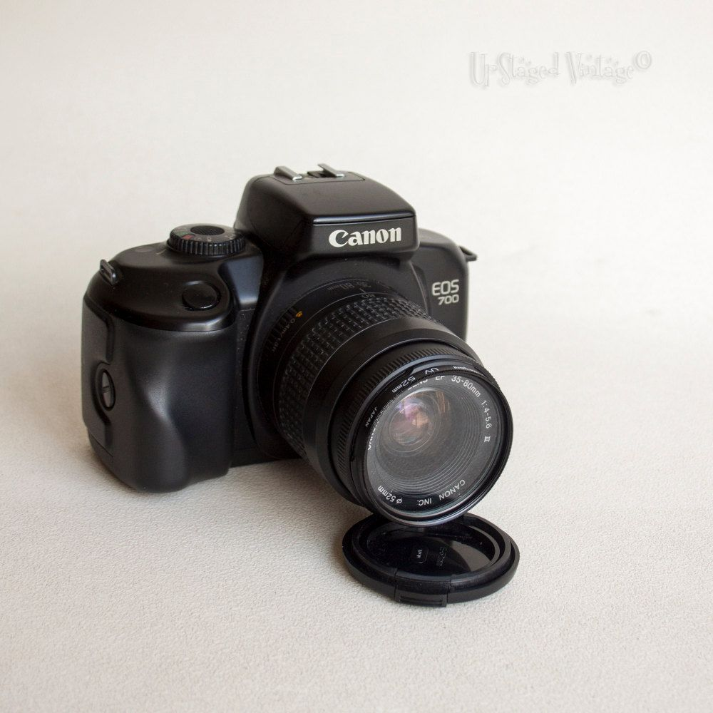 Canon Eos 700 S L R Af 35mm Film Camera Body With 35mm 80mm Etsy Film Camera Zoom Lens Canon Eos 700