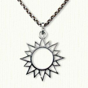 Beautiful sun pendant pierced 1 available in all metals celtic beautiful sun pendant pierced 1 available in all metals mozeypictures Choice Image