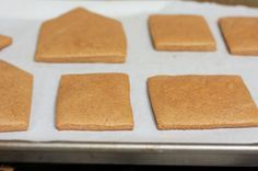 gingerbread house recipe - house and icing