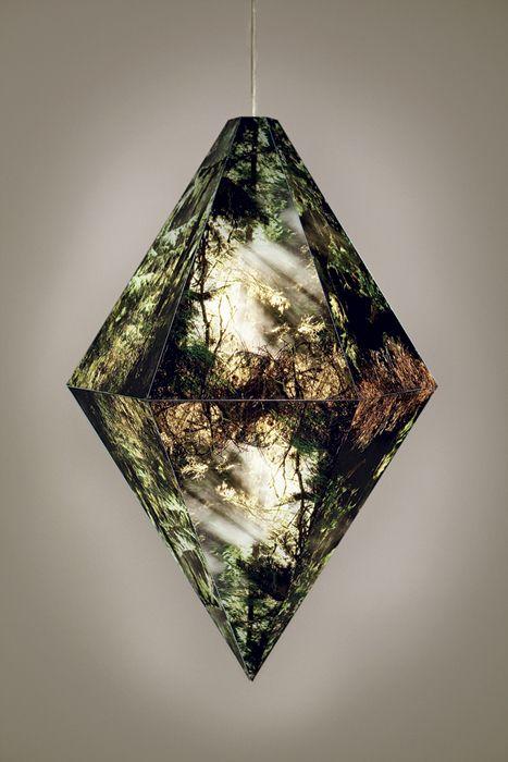 Arboreal Prism Lamp by Kirsten Kay Thoen